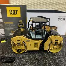 Гусеничный Cat CB13 тандемный Вибрационный каток-Rops 1:50 Масштаб металла бренд Diecast Masters DM85594