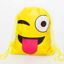82adc2de0645 10 unids lote lindo lengua emoji bolsas de regalo los niños fiesta de  cumpleaños decoraciones