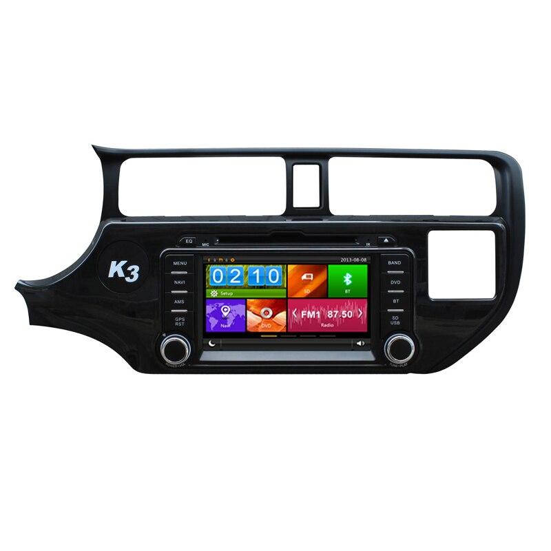 8 dvd плеер автомобиля Авто Радио Стерео gps навигации для KIA RIO K3 Pride 2012 2013 2014 Поддержка спереди DVR TPMS 3g Зеркало Ссылка BT