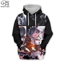 PLstar Cosmos Sexy Ram 3D Printed Hoodie Mens Womens hip hop apparel boy for girl hoodies jacket Drop shipping