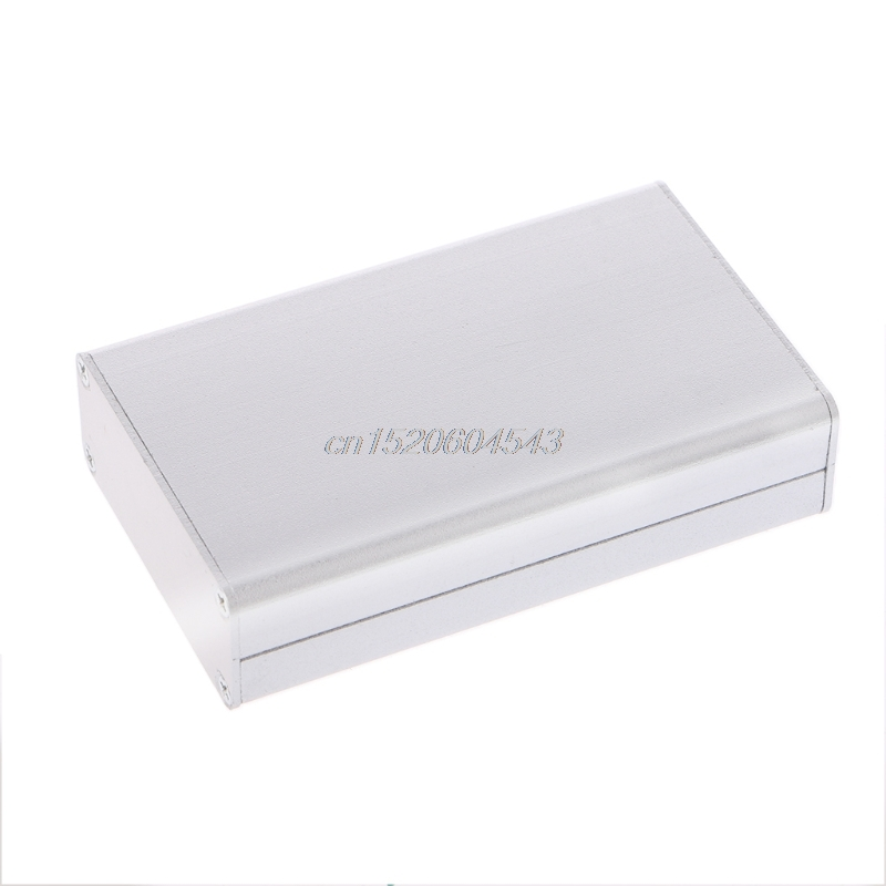 Aluminum Project Box Enclosure Case Electronic DIY Instrument Case 80x50x20mm R06 Drop Ship 1pc electronic project instrument box black aluminum enclosure case 100x66x43mm mayitr with corrosion resistance