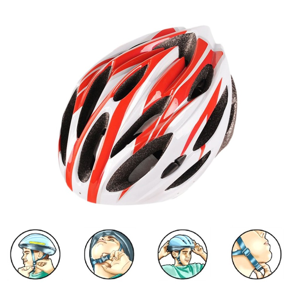 Safety Head Protect Integrated Molding Helmet Bike Bicycle Riding Protective Adult Helmet Impact Resistance Sports Equipment