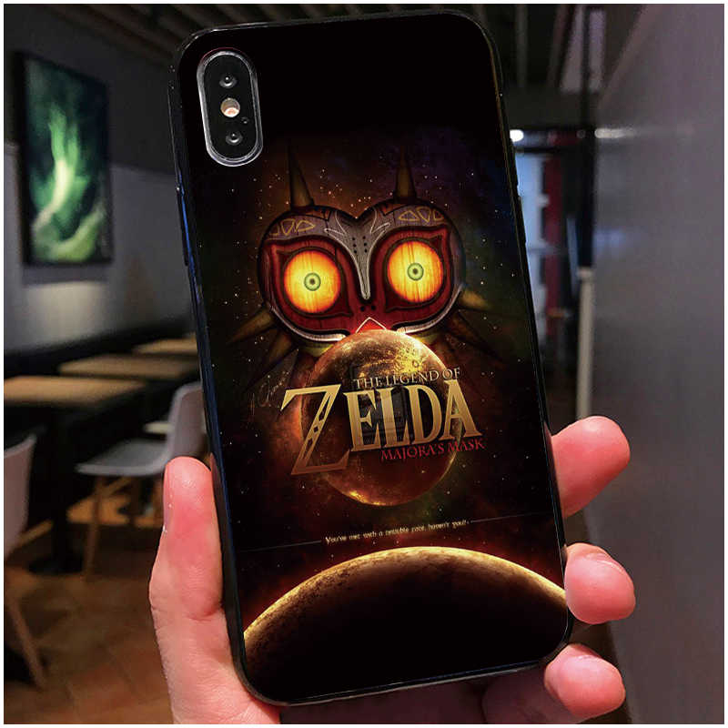 newest collection e6c50 f3d20 The Legend of Zelda Breath of the Wild Sheikah Slate Cover Case For iPhone  X 10 5 5S 6 6S 7 8 Plus Samsung Galaxy S8 S9 S7 edge