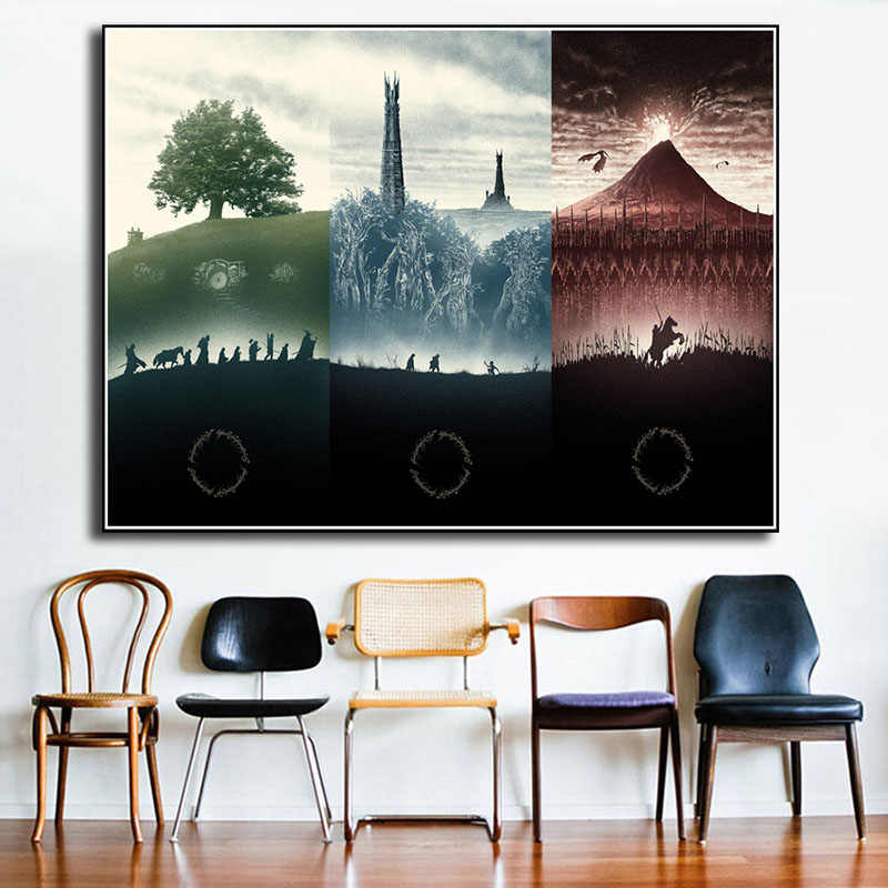 Lord Of The Rings Canvas Prints