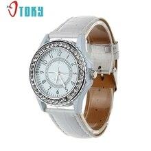 OTOKY geneva watch women Crystal Dial Señora Dress Reloj de Pulsera de cuarzo-reloj Hora #40 Regalo 1 unid