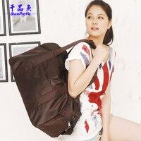 Free Shipping 2013 Brand Designer Waterproof Nylon Carry On Luggage Dual Function Bag Sports Gym Bag