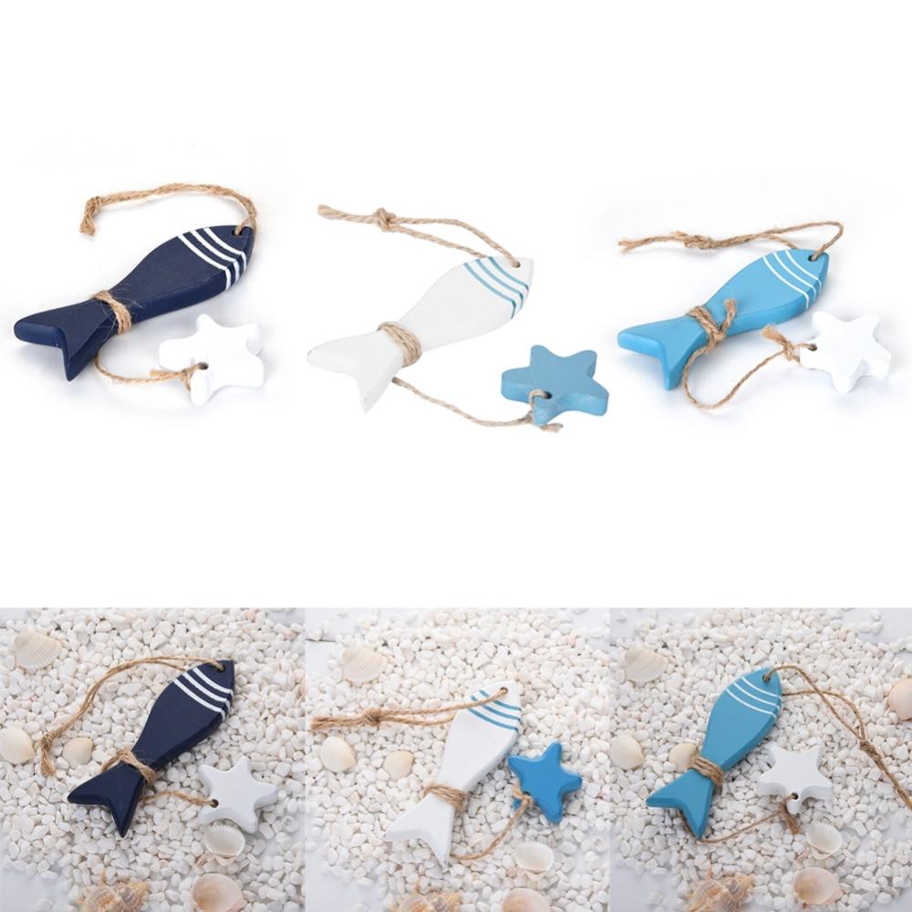 diy mini lindo starfish cortinas de estilo mediterrneo y agrupados penda para sala hunging decoracin peces