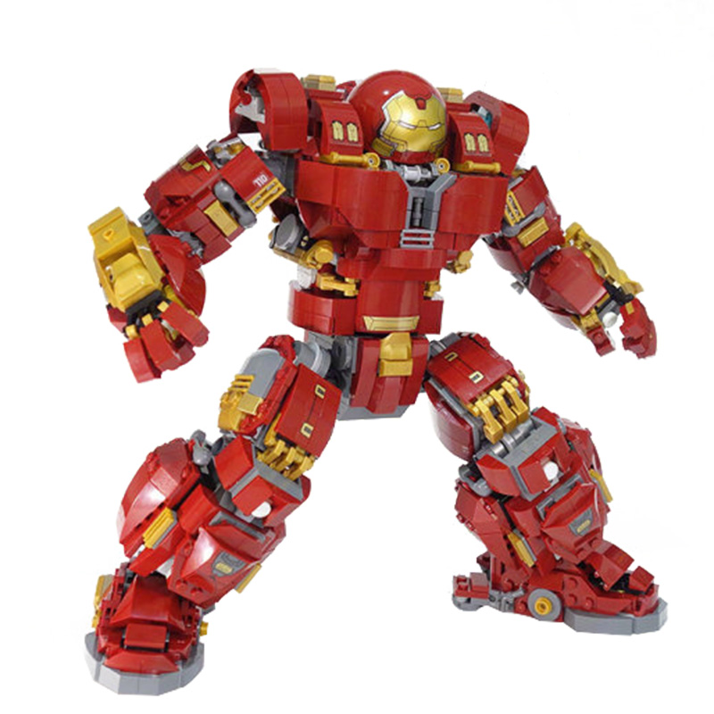 Ironman Hulkbuster Compatible avec legoing Iron Man 76105 modèles de blocs de construction Marvel Avengers Super héros jouets pour enfants-in Blocs from Jeux et loisirs    1