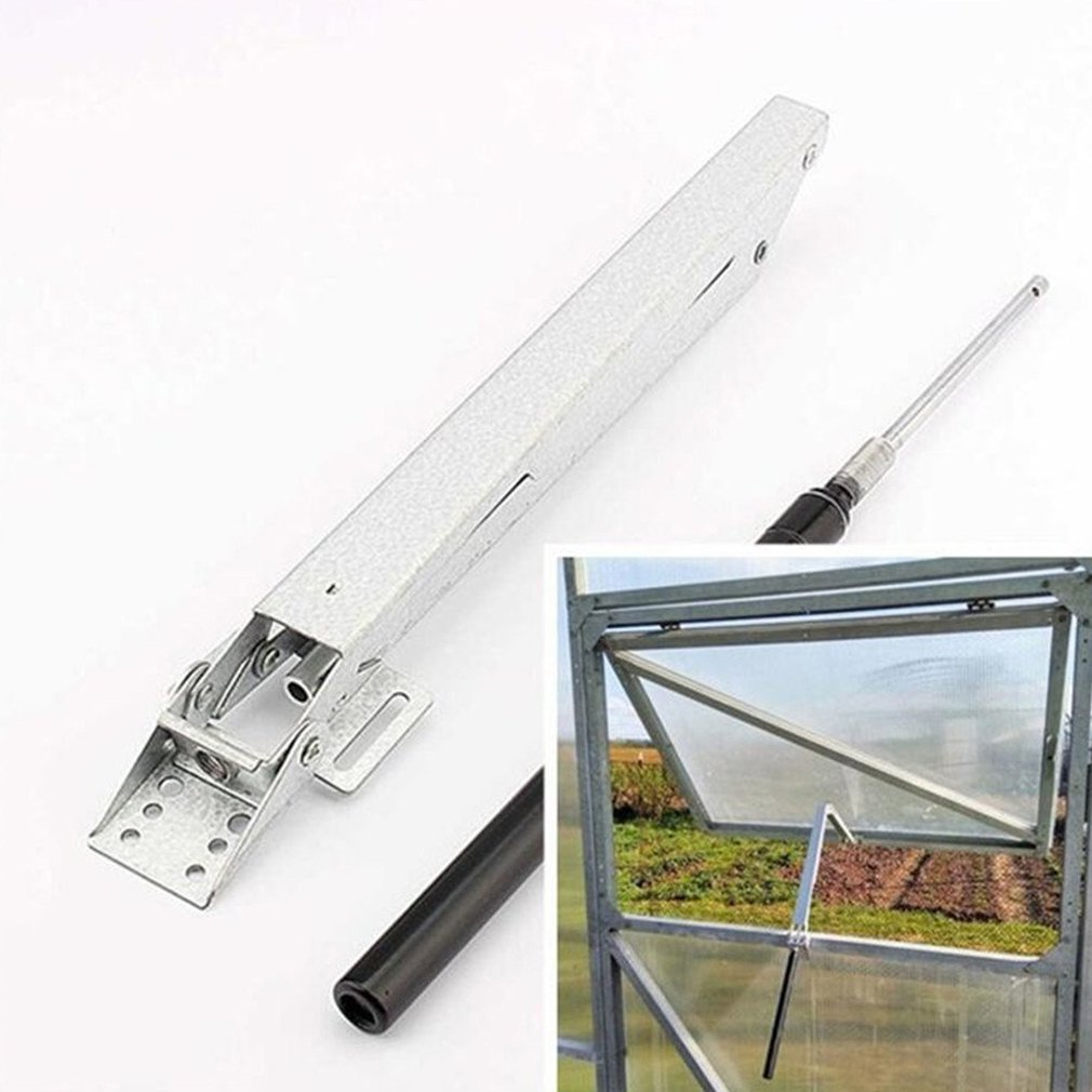 Greenhouse Automatic Window Opener  Automatic Thermo Vent Window Opener Ventilation Maximum 45cm Windows Opening