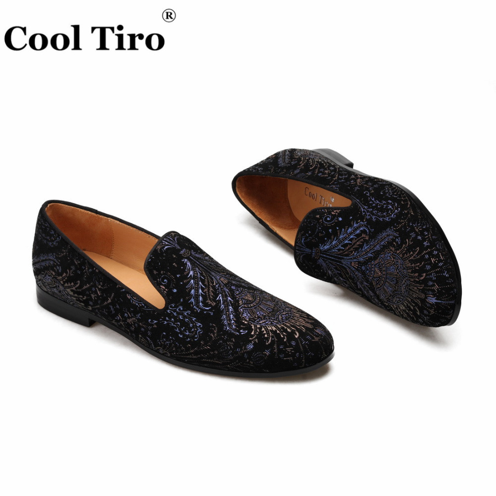 printing Mens Loafers With Tassels Flats (5)