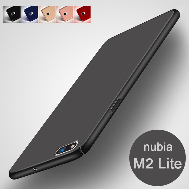 new style 046c9 6a793 US $1.55 22% OFF|Hard PC Cover for ZTE nubia M2 Lite Case nubia M2lite 5.5