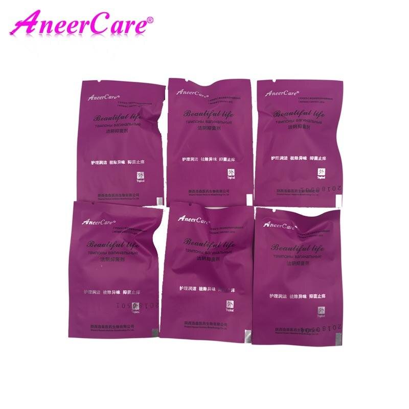 12 pièces tampon tampon chinois écouvillons féminins yoni perles produit dhygiène contracté vagin décharge toxines traitement gynécologique voiture