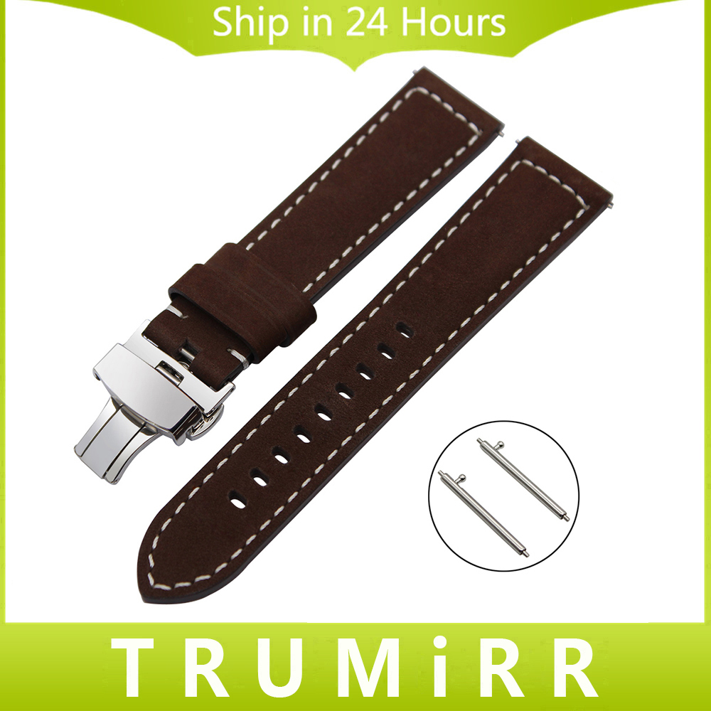 Quick Release Watchband 22mm for Ulysse Nardin Bell Ross Montblanc Oris Zenith Italian Genuine Leather Watch Band Wrist Strap ulysse