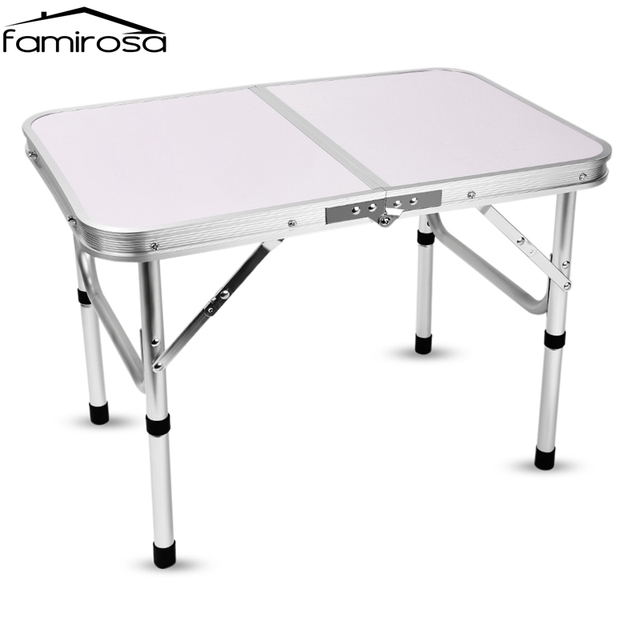 Famirosa aluminum folding camping picnic table laptop bed desk famirosa aluminum folding camping picnic table laptop bed desk adjustable height portable outdoor table outdoor furniture watchthetrailerfo