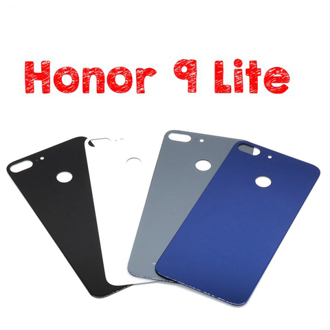 For Huawei Honor 9 Back Glass Battery Cover Rear Door Housing Case Panel For Honor9 Lite Huawei Honor 9 Back Glass Cover Replace Lahore