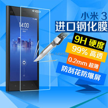 FOR Xiaomi Mi3 screen protector, Nanometer Anti-Explosion Te