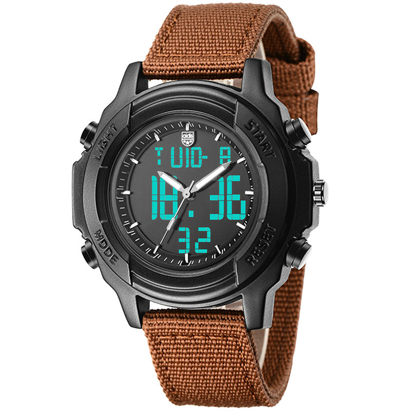 Students Waterproof Dual Display Wristwatches Adolescents Multifunction Electronic Watch Outdoor Sports Military Form Watches skmei kids sports watches children for girls boys waterproof military dual display wristwatches led waterproof watch 1163