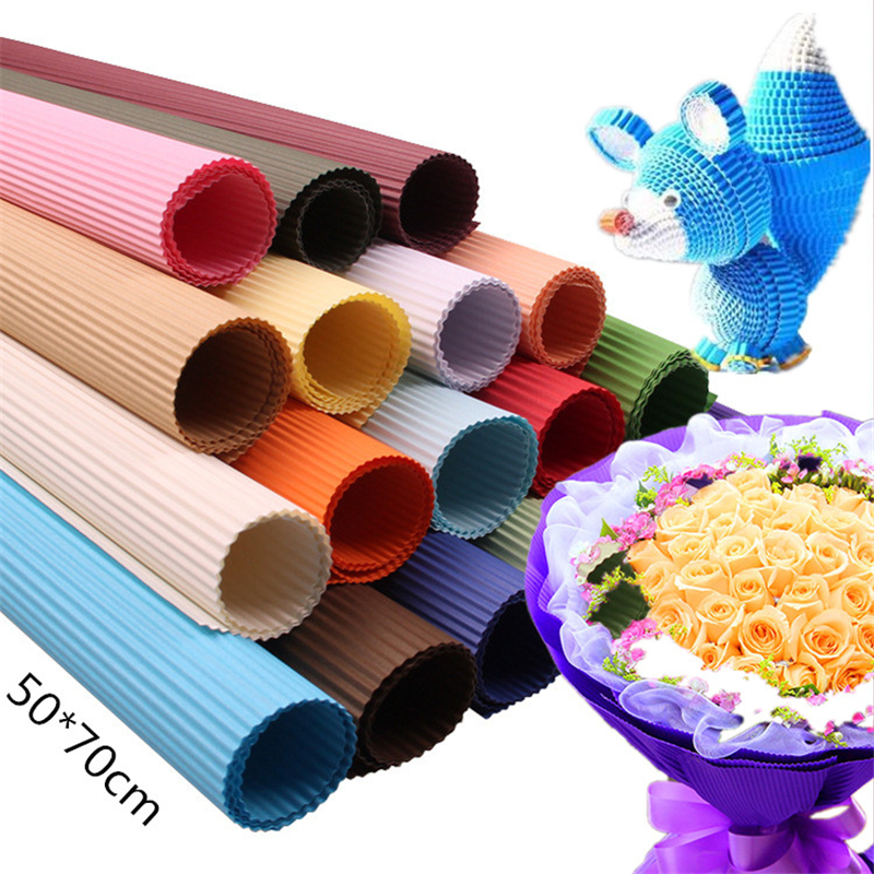 Plastic Paper Folding Machine Making Crepe Paper Corrugated Practical Tools Hot