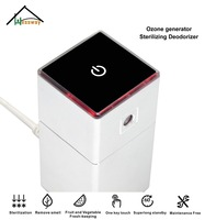 Portable Mini ozone air purifier Ionizer ozone generator ozone sterilizer with refrigerators wardrobes closet