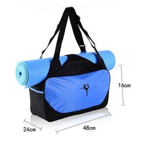 Image 2 - Aosbos ホットヨガバッグ多機能服ジムバッグ女性防水スポーツバッグショルダーヨガマットバッグ大容量のハンドバッグ