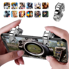 R11 PUBG Controller Colorful Metal For PUBG Mobile Gamepad For Smart Phone Mobile High Sensitive Joystick Metal L1 R1 Trigger цена и фото