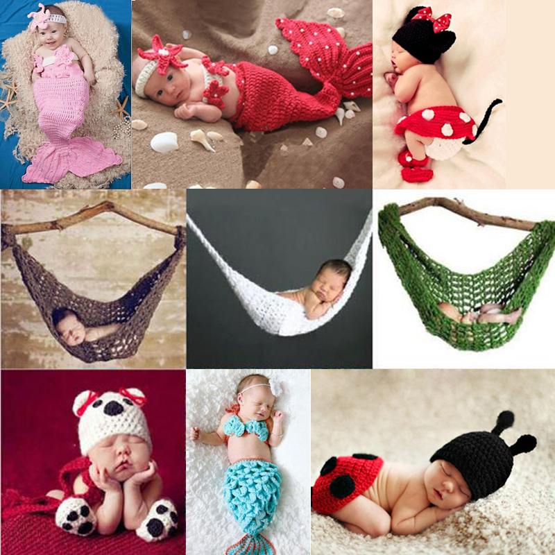 0-3 Months Newborn Animals Crochet Knitting Hat Baby Boys Girls Crochet Knitting Costume Infant Handmade Photo Photography Prop cool newborn baby girls boys crochet knit costume photo photography prop outfits cute baby clothes sets
