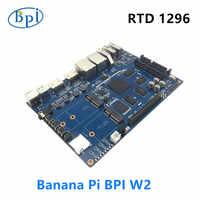 Routeur NAS intelligent banane Pi BPI W2 RTD1296 conception de puces