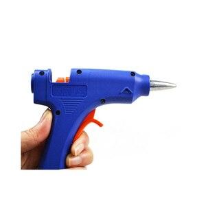 Image 5 - DEKO 20W Spina di UE Hot Melt Pistola di Colla con 7 millimetri Colla Stick Industriale Mini Pistole Termo Elettrico di Calore strumento di temperatura