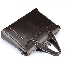 Men's Classic Genuine Leather Handbag