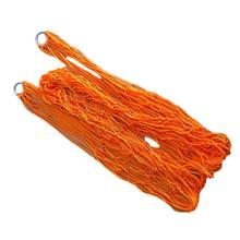 COFA Orange Нейлон Гамак Висячие Mesh Net-х Спальная Кровать Открытый Свинг Кемпинг Путешествия