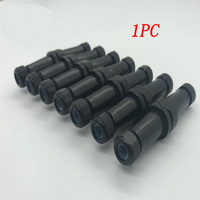 1PC Wire to wire Plug Waterproof Connector Watertight Connector Single Core Seal Ring Plug Depth 200m for Underwater Robot ROV