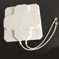 1pcs 4G Antenna Outdoor High Gain 18dbi With Dual N Female Jack Directional Lte Antenne For