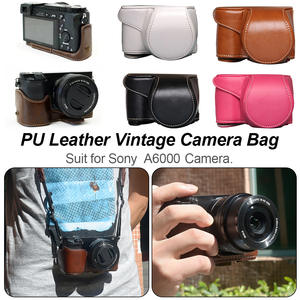 Pouch Case Cover-Bag Protective-Case A6300-Camera Sony A6000 Vintage for New-Arrival