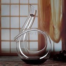 Neue Handgemachte Kristall Rotwein Ausgießer Glas Karaffe Brandy Dekantieren Set Krug Für Bar Champagner Wasserflasche Trinkgläser Geschenk