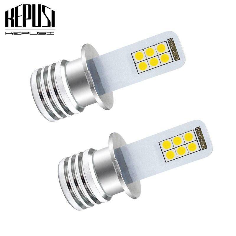 2x H3 Led DRL Fog Lamp Bulb 3030 12SMD Auto Car Motor Truck Driving LED Bulbs