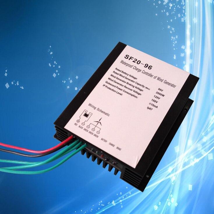 400W 24V Wind Generator + Max 900W MPPT Wind/Solar Hybrid Controller ...