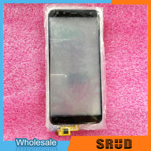 цена на 10Pcs/lot High Quality Touch Glass For Leagoo S8 Touch Screen Digitizer Glass Panel Replacement