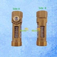 Reading Flowmeter G3/4 Balancing-Valve Spring Brass USC-MS21TA Female 2-8l/min Male--G1/2