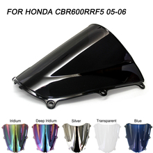 motorcycle top clamp lowering triple tree front end upper for honda cbr 600rr f5 cbr600rr 2005 2006 black cnc machined Black Motorcycle Motorbike Windshield Double Bubble Windscreen Wind Deflectors For Honda CBR600RR F5 CBR 600RR F5 2005-2006 2005