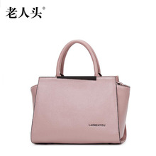 Women bag 2016 quality genuine leather bag famous brands fashion women leather handbags shoulder messenger bag simple wing bag