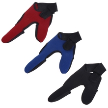 Fishing Gloves 2 Fingers Outdoor Men Breathable Anti Slip Elastic Sun Protector