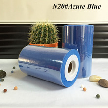 6 inch Tulle Rolls 15cm x 100 yards Fabric Azure Blue Color Tulle Spool