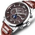 (Самая низкая цена) Switzerland Nesun часы мужские роскошные брендовые автоматические механические мужские часы сапфировый, светящийся водонепрон...