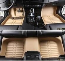 Envío gratis personalizar alfombras tapetes estera del pie del coche universal auto alfombra antideslizante-dirt prueba de cuero especial nuevos accesorios