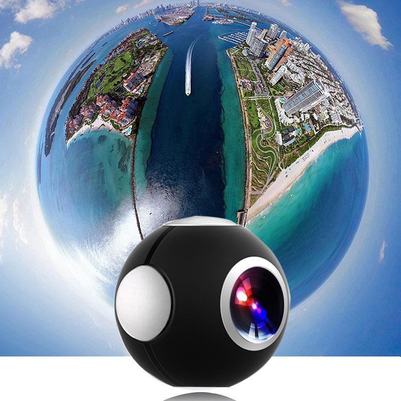360 Camera Panoramic Mini Camera 360 HD Wide Dual Lens Fish Eye VR Video Camera for Android Smartphone Sport Action Camera TypeC