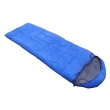 Открытый водонепроницаемый дорожный конверт спальный мешок Кемпинг Туризм чехол для переноски синий#8