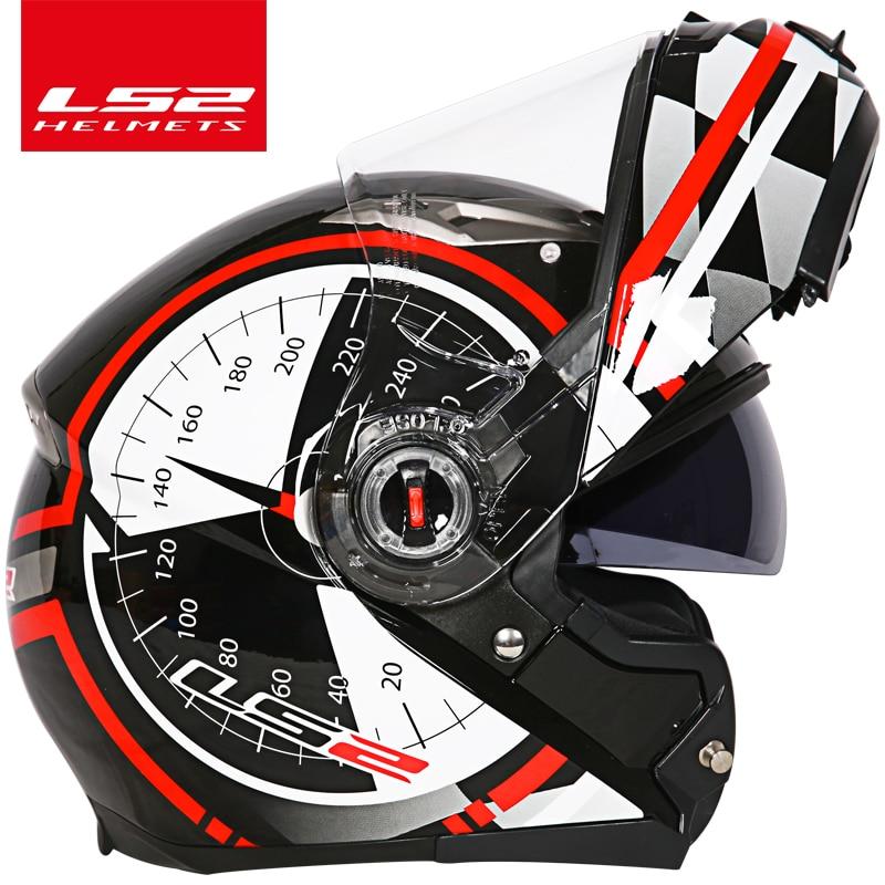 capacete ls2 ff370 Мотоцикл дулыға casco de moto - Мотоцикл аксессуарлары мен бөлшектер - фото 5