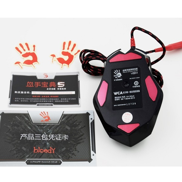 A4tech Bloody V8M 3200DPI Gaming Mouse 3D Wired Dragon Custom 8 Keysters LOLFps Emperorship LOL CF Dota Mouse 2017 Hot Sale