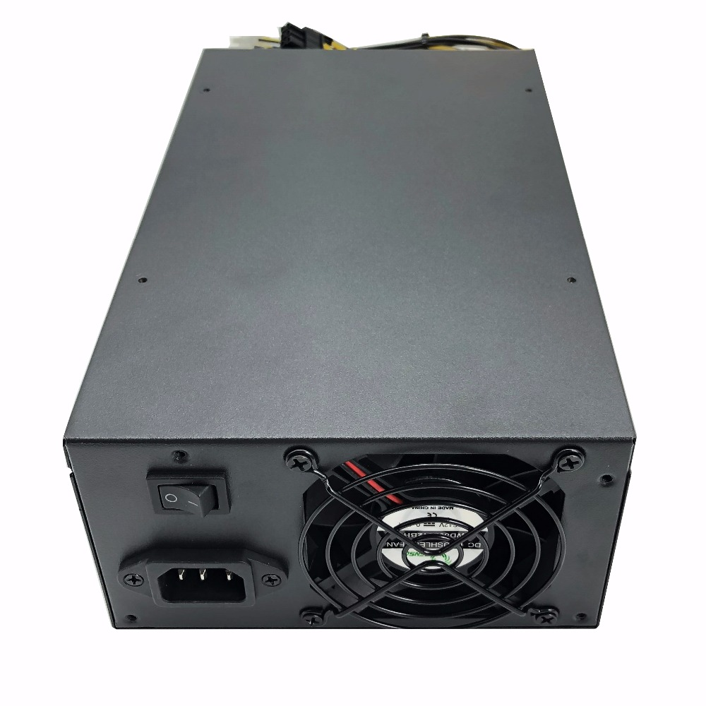 1800W psu Ant S7 A6 A7 S7 S9 L3 BTC miner machine server mining board power supply Free shipping in PC Power Supplies from Computer Office