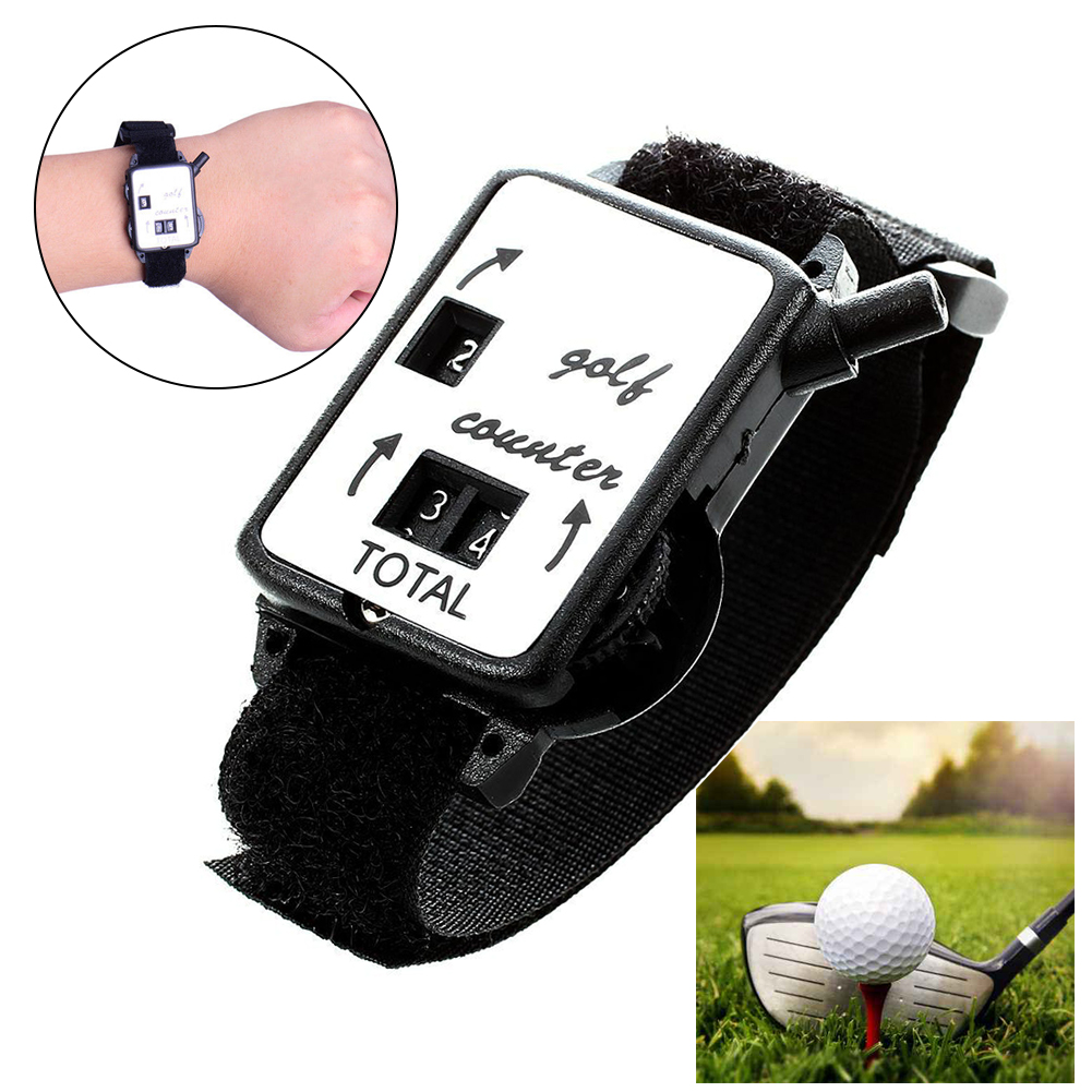 Golf Stroke Wristband Mechanical Outdoor Shot Portable Putt Durable Score Keeper Sport Club Mini Watch Type Counter